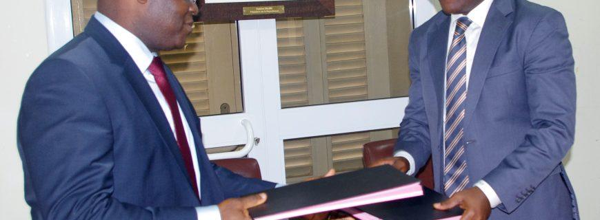 Convention cadre de partenariat entre la DGI et la CCIB : pour accompagner les entreprises