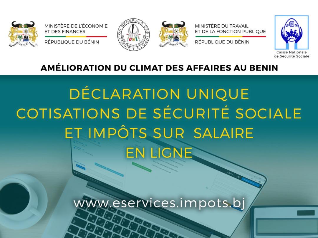 DÉCLARATION UNIQUE DES IMPÔTS SUR SALAIRES ET DES COTISATIONS SOCIALES