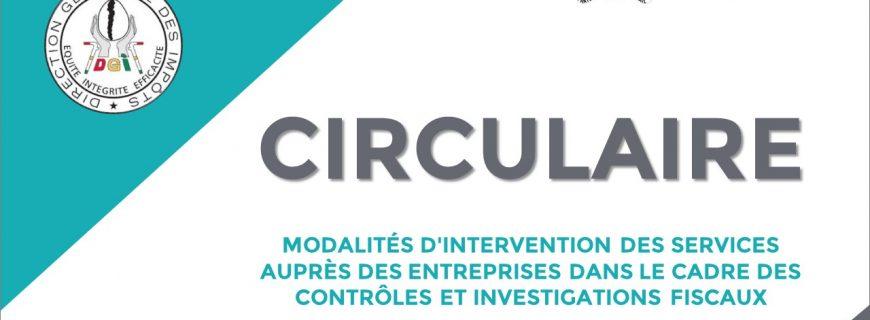 MODALITÉS D'INTERVENTION DES SERVICES AUPRÈS DES ENTREPRISES DANS LE CADRE DES CONTRÔLES ET INVESTIGATIONS FISCAUX