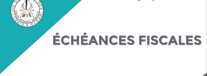 ECHEANCES FISCALES DU MOIS DE MARS 2021