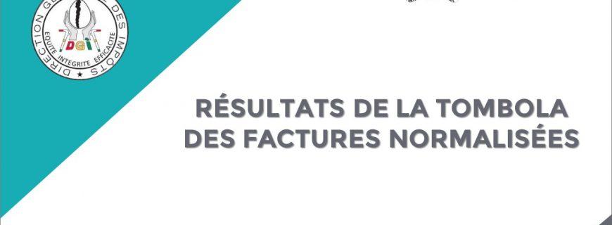 RÉSULTATS DE LA TOMBOLA DES FACTURES NORMALISÉES : Tirage du 26 février 2021