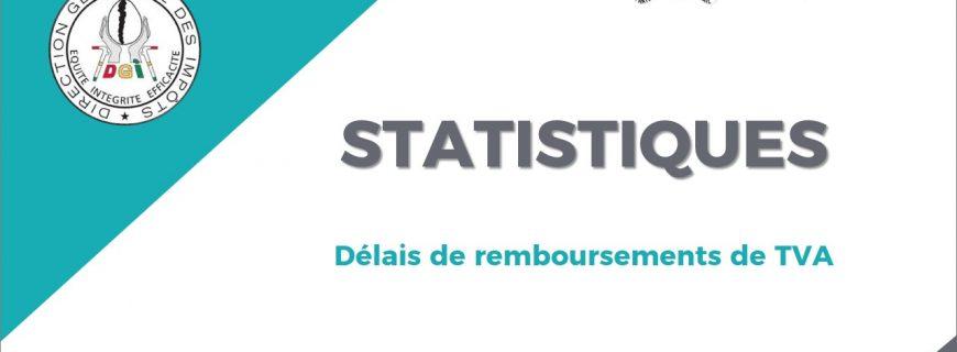 STATISTIQUES SUR LES DELAIS DE REMBOURSEMENTS DE TVA