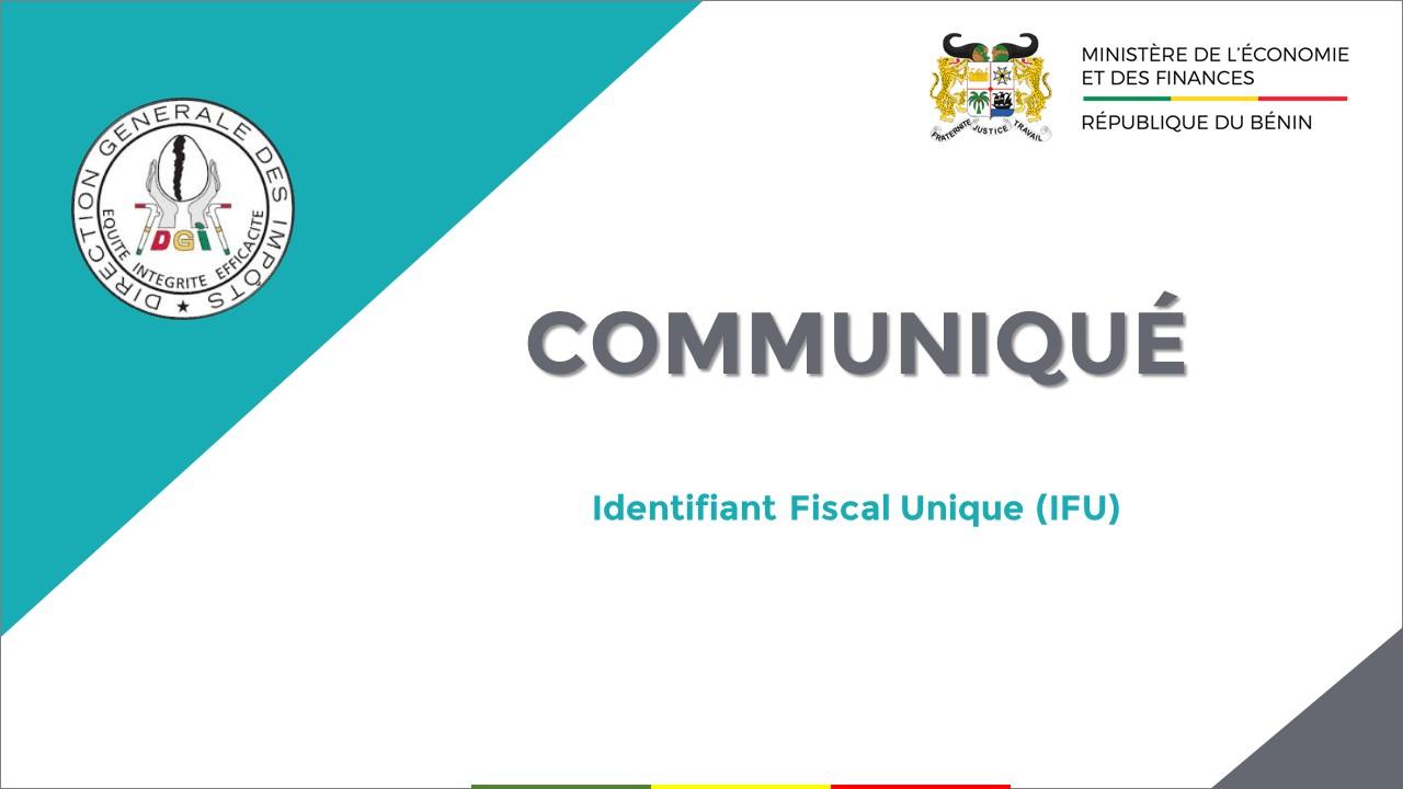 CIPE de Cotonou et d'Abomey-Calavi : l'IFU désormais obligatoire pour toutes les opérations