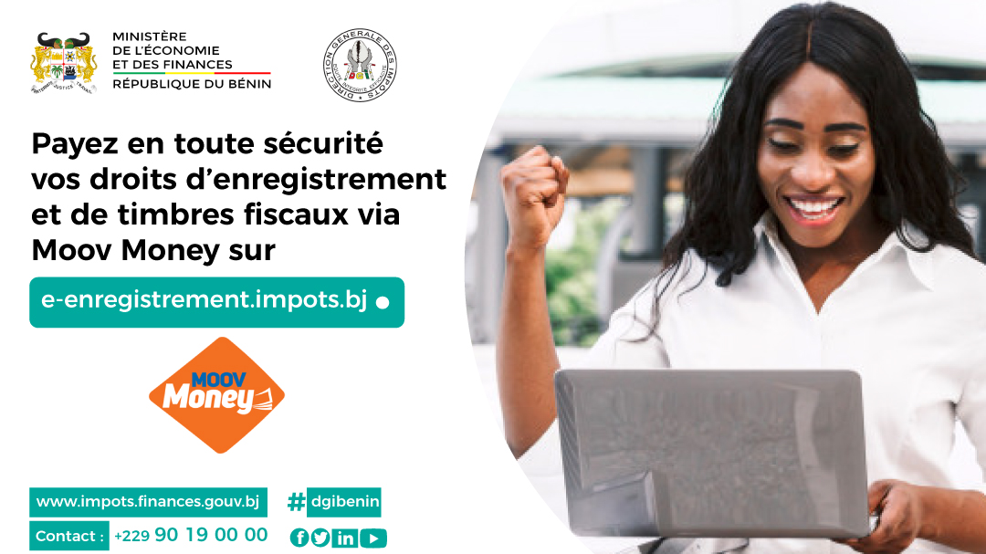 PROCÉDURE DE PAIEMENT DES DROITS D'ENREGISTREMENT ET DE TIMBRES EN LIGNE